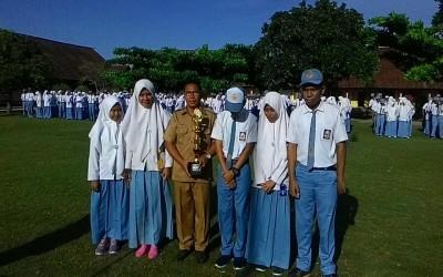 SMAN 1 Taliwang Menjuarai lomba KADARKUM tk. Kabupaten Sumbawa Barat