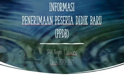 Informasi PPDB SMA Negeri 1 Taliwang 2020-2021