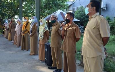 Hari Pertama PBM Tatap Muka Pasca Idul Fitri