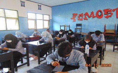 Ujian Sekolah Berbasis Gawai (USBG) Tahun Pelajaran 2020-2021 di Masa Pandemi Covid 19